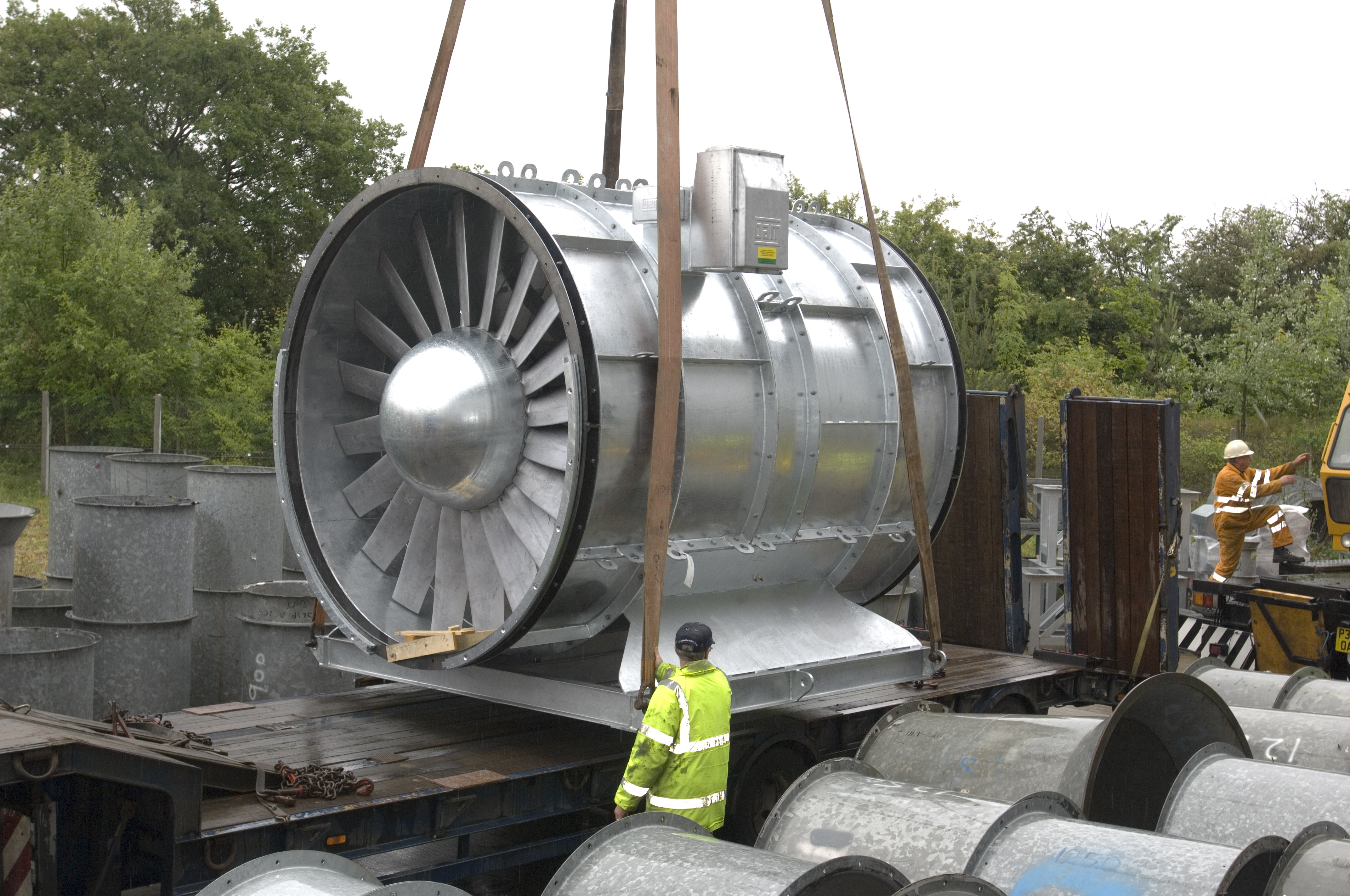 Axial Fans For Tunnels : Birkett long helps flakt woods uk to secure deal